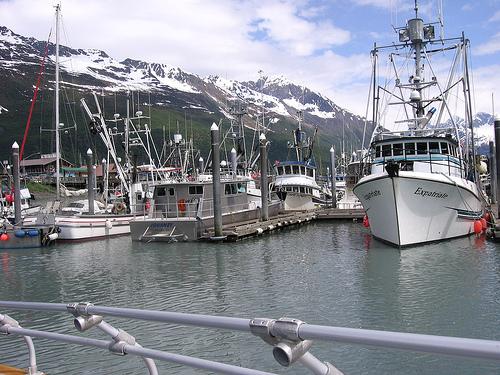 Valdez Alaska Boat Harbor