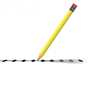 Pencil-connecting-the-dots-1435162-m