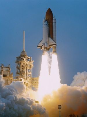 米兜彩票电脑版Space-shuttle-challengers-final-lift-off