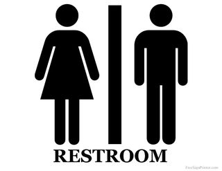 米兜彩票电脑版Printable-unisex-restroom-sign
