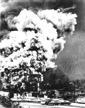 Mine-Disaster-smoke